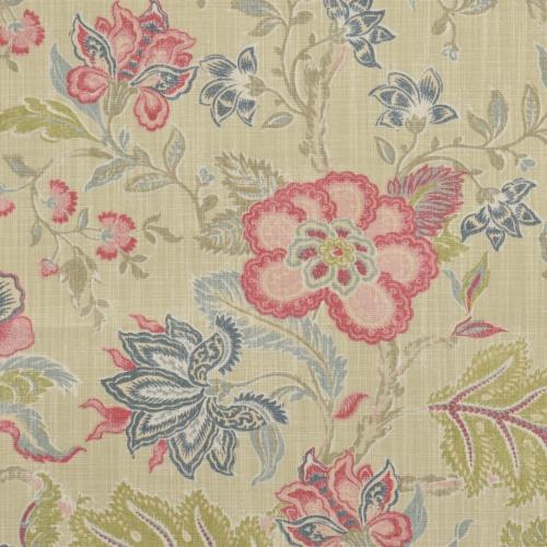 Gordon Smith Jacobin Chintz Curtain Fabric