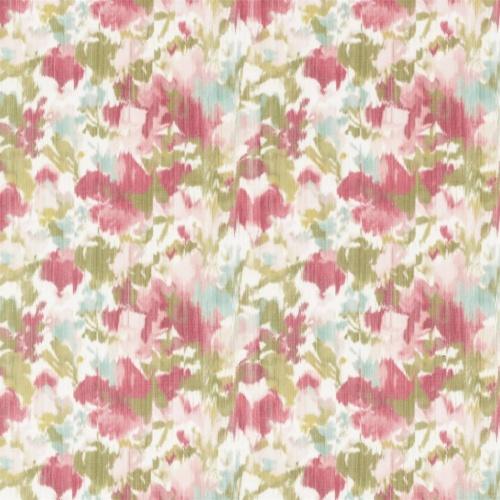 Sanderson Poet's Garden Raspberry Fabric 226757