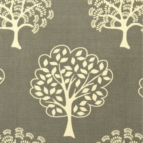 Gordon Smith Arbre Grey Curtain Fabric