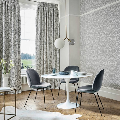 Harlequin Cadencia French Grey Curtain Fabric 132658