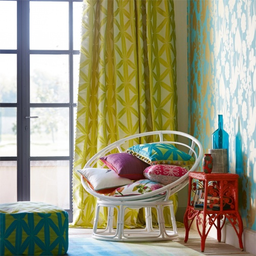 Harlequin Rumbia Zest/Lemon Curtain Fabric 131522