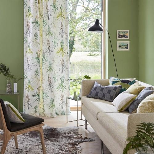 Scion Tillandsia Amber/Slate Fabric 120773