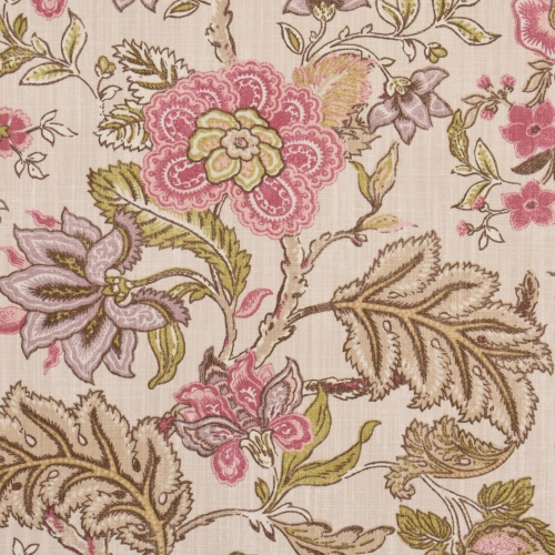 Gordon Smith Jacobin Mulberry Curtain Fabric