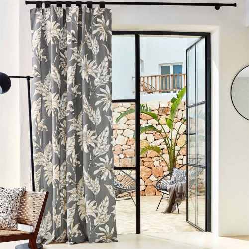 Harlequin Ananda Slate Curtain Fabric 120905