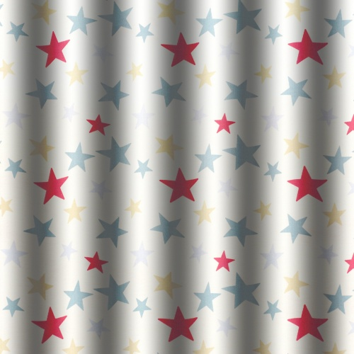 Gordon Smith Funky Stars Duck Egg Fabric