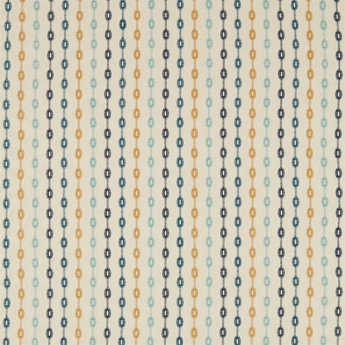 Sanderson Home Shaker Stripe Dijon Curtain Fabric 235889