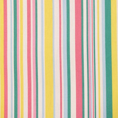 Gordon Smith Funky Stripe Pink Curtain Fabric