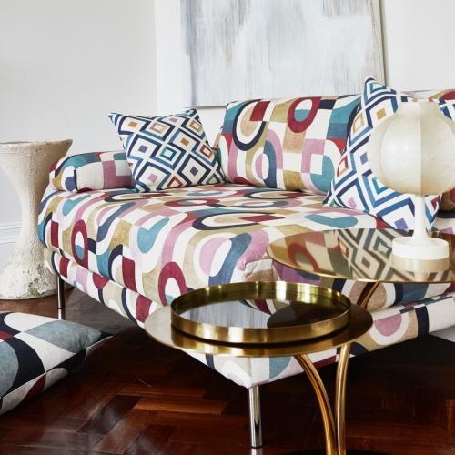 Prestigious Puzzle Auburn Fabric 8684/337