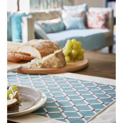 Prestigious Fenton Sapphire Fabric 3734/710