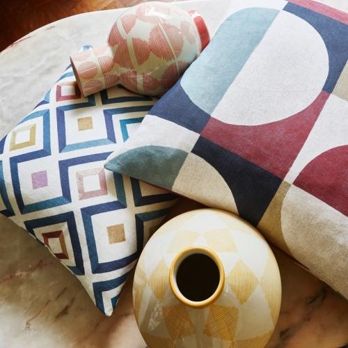 Prestigious Arc Auburn Fabric 8682/337