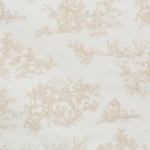 Gordon Smith Toile Beige Fabric