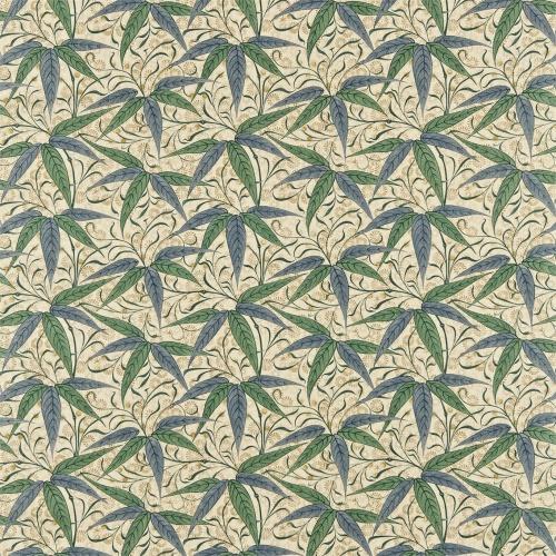 Morris & Co Bamboo Thyme/Artichoke Curtain Fabric 222526