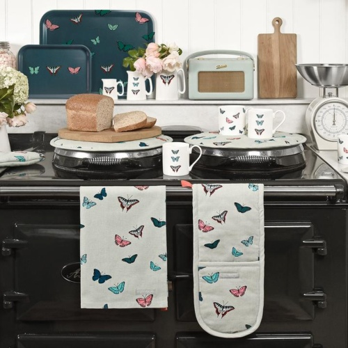Sophie Allport Butterflies Round Hob Cover
