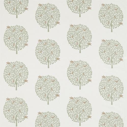 Sanderson Home Bay Tree Celadon Fabric 236431