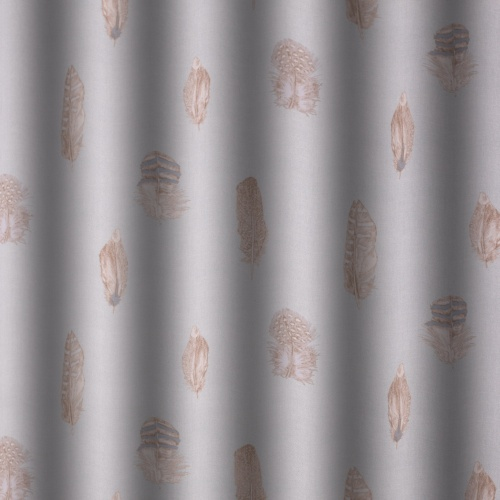 Gordon Smith Quill Duck Egg Curtain Fabric