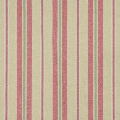 Gordon Smith Tweet Stripe Pink Curtain Fabric