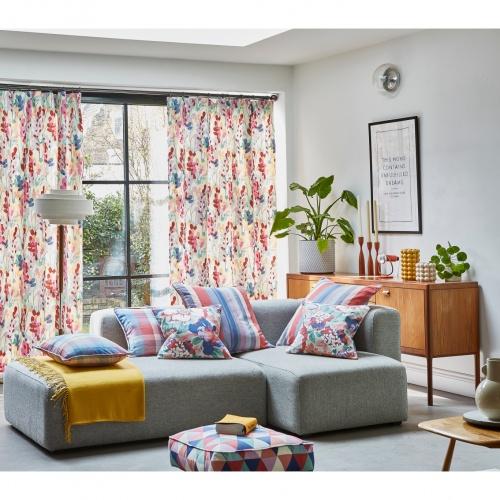 Prestigious Twirl Raspberry Fabric 5080/201