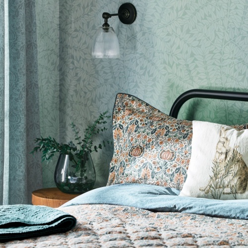 William Morris Little Chintz Oxford Pillowcase Duvet Cover Teal