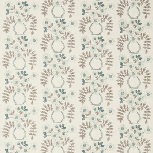 Sanderson Home Flower Pot Winter Rocket Curtain Fabric 235879