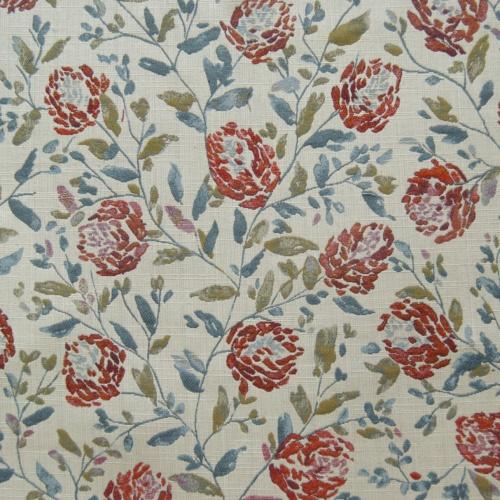 Voyage Hidcote Russett Curtain Fabric