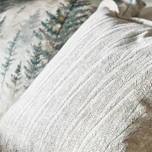 Sanderson Beckett Chalk/Taupe Curtain Fabric 236729