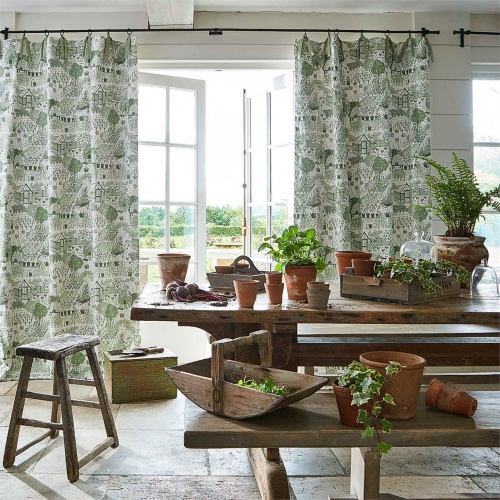 Sanderson Home The Allotment Fennel Fabric 226360