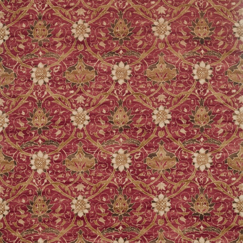 Morris & Co Montreal Russet Fabric 226420