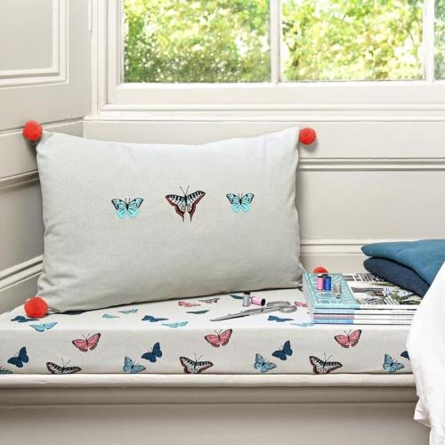 Sophie Allport Butterflies Curtain Fabric