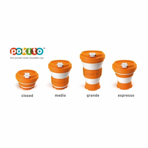 Pokito Pop Up Cup Pumpkin
