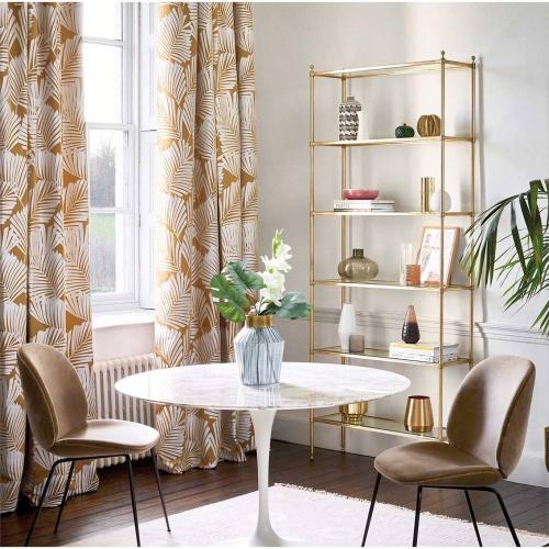 Harlequin Salinas Russet/Oyster Curtain Fabric 132950