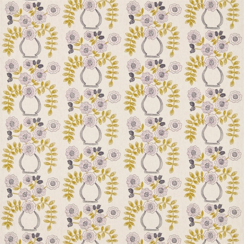 Sanderson Home Flower Pot Fig/Olive Curtain Fabric 235878
