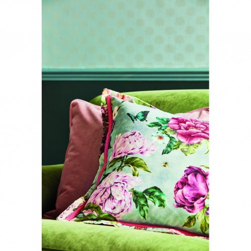 Sanderson Summer Peony Vineyard/Rose Fabric 226747