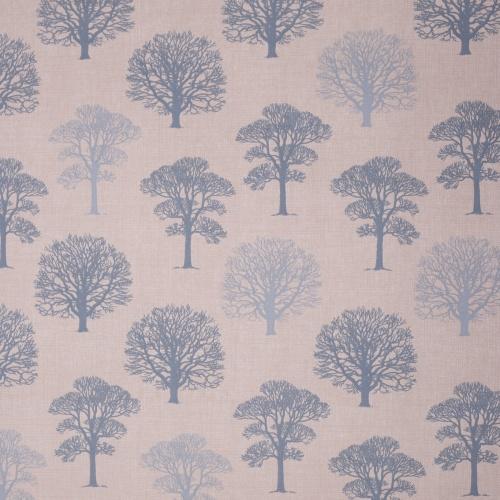 Gordon Smith Oak Duck Egg Curtain Fabric