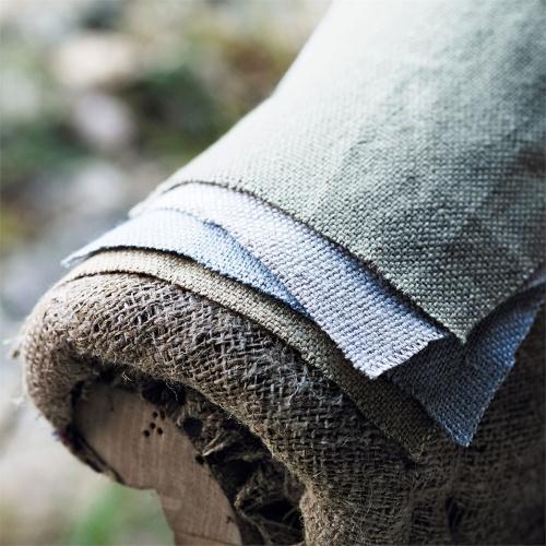 Sanderson Woodland Plain Sea Blue Fabric 235623