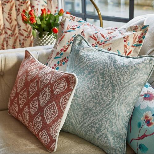 Prestigious Rosemoor Sapphire Fabric 3736/710