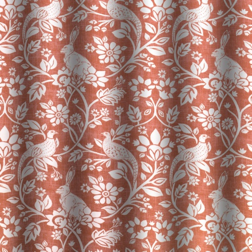 Swatch Box Heathland Copper Curtain Fabric