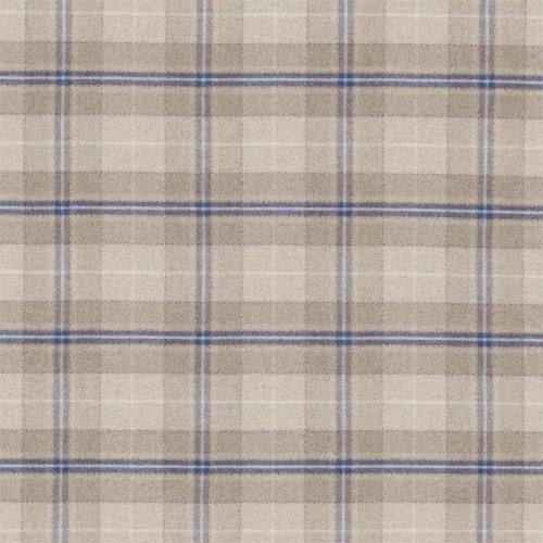 Sanderson Milton Indigo/Stone Fabric 233246