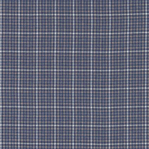 Sanderson Langtry Indigo/Stone Fabric 233259