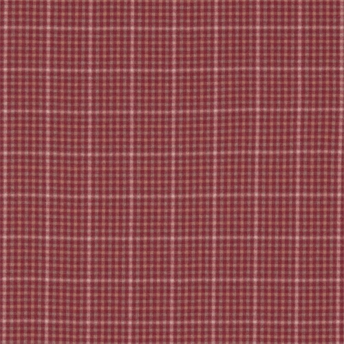 Sanderson Langtry Cherry/Biscuit Fabric 233262