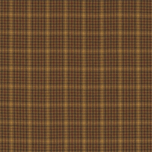 Sanderson Langtry Caramel/Burgundy Fabric 233264