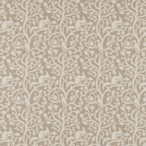 Sanderson Squirrel & Dove Wool Linen Fabric 233265
