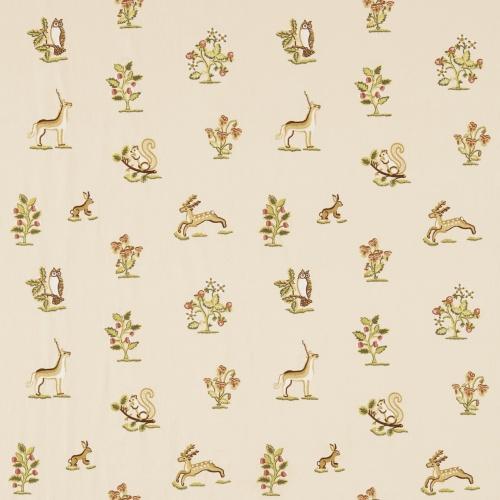 Sanderson Clemence Russet/Sand Fabric 233990