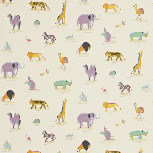 Sanderson Two by Two Vintage Multi Fabric 223901