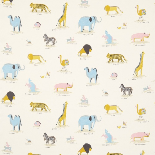 Sanderson Two by Two Neapolitan Fabric 223902