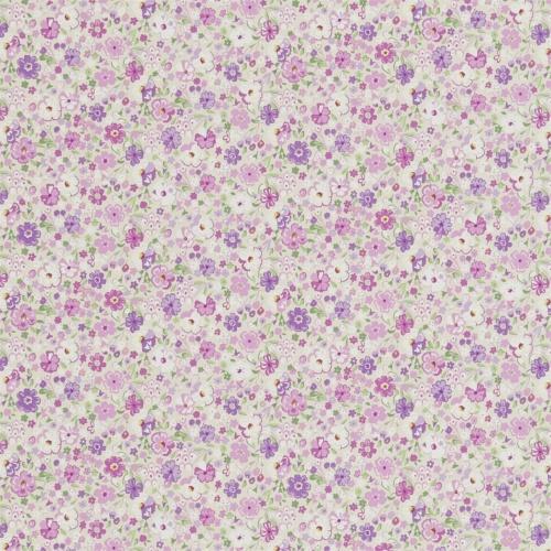 Sanderson Posy Floral Lavender Fabric 223904