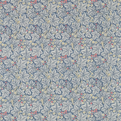 Morris & Co Bramble Mineral/Slate Curtain Fabric 224462