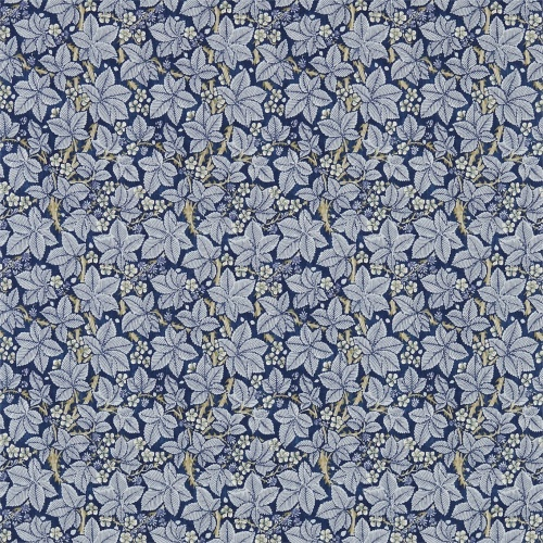 Morris & Co Bramble Indigo/Mineral Curtain Fabric 224463