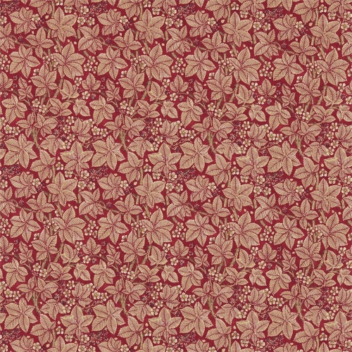 Morris & Co Bramble Wine/Thyme Curtain Fabric 224465
