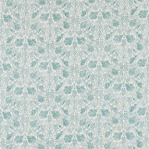 Morris & Co Grapevine Sage Curtain Fabric 224474