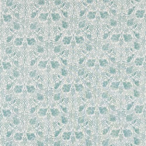 Morris & Co Grapevine Sage Curtain Fabric 224474